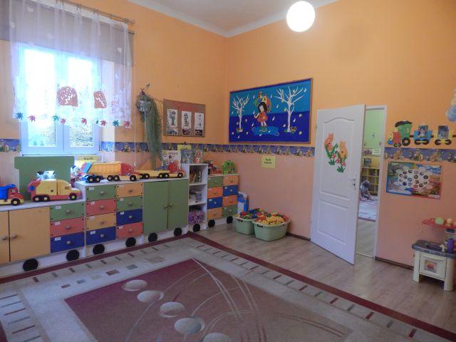wnętrze przedszkola