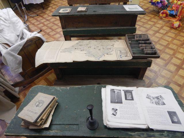 eksponaty Izby Folkloru Lasowiackiego