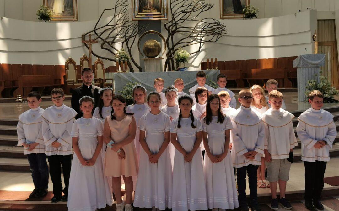 Klasa IV w Sanktuarium Bożego Miłosierdzia w Krakowie-Łagiewnikach